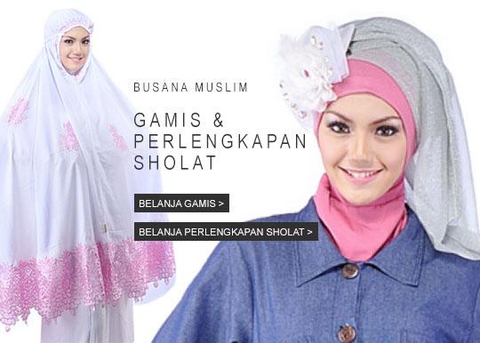 belanja busana muslim wanita