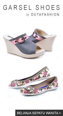 belanja sepatu perempuan garsel shoes