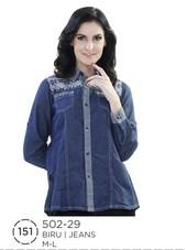 Atasan Wanita Jeans 502-29