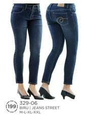 Celana Panjang Wanita Jeanstret 329-06