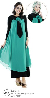 Gamis Jersey 586-11