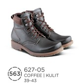 Sepatu Boots Pria Kulit Buk 627-05