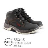 Sepatu Boots Pria Kulit 550-13