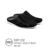 Sepatu Bustong Pria Kulit Buk 597-02