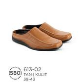 Sepatu Bustong Pria Kulit 613-02