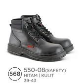Sepatu Safety Pria Kulit 550-08