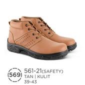 Sepatu Safety Pria Kulit 561-21