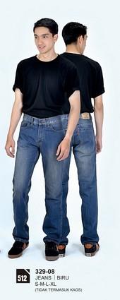 Celana Jeans Pria 329-08