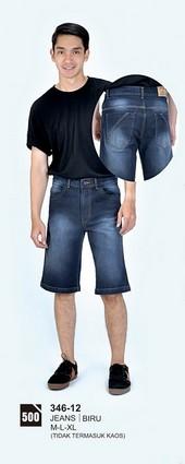 Celana Pendek Pria Azzurra 346-12