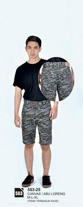 Celana Pendek Pria Azzurra 553-25
