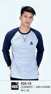 Kaos T Shirt Pria 535-15