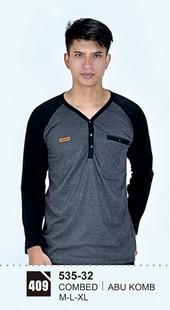 Kaos T Shirt Pria 535-32
