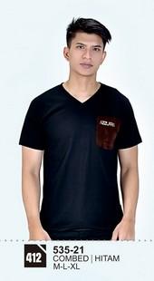 Kaos T Shirt Pria 535-21