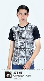 Kaos T Shirt Pria 335-56