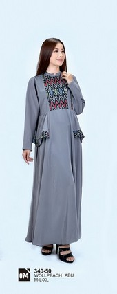 Long Dress Azzurra 340-50