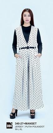 Long Dress Azzurra 340-27