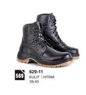 Sepatu Boots Pria Azzurra 629-11