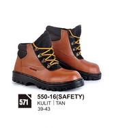 Sepatu Boots Pria Azzurra 550-16