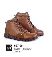 Sepatu Boots Pria Azzurra 627-08