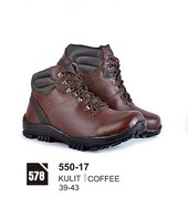 Sepatu Boots Pria Azzurra 550-17