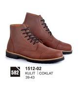 Sepatu Boots Pria Azzurra 1512-02