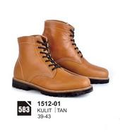 Sepatu Boots Pria Azzurra 1512-01