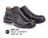 Sepatu Safety Kulit Pria BRC 612