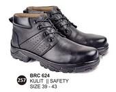 Sepatu Safety Kulit Pria BRC 624