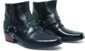 Sepatu Cowboy Pria Kulit BNN 286