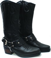Sepatu Cowboy Pria Kulit BNN 288