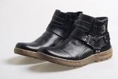 Sepatu Cowboy Pria Kulit BRD 775