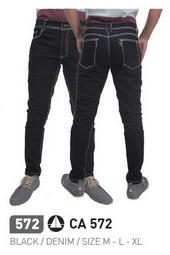 Celana Panjang Hitam Pria CA 572