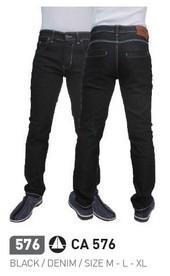 Celana Panjang Hitam Pria CA 576