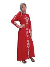 Gamis Merah CA 537
