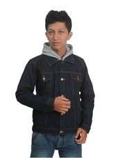 Jaket Biru Pria CA 553