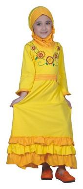 baju gamis anak perempuan CBV 009