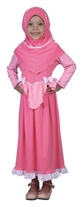 baju muslim anak perempuan murah CDN 250