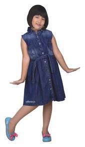 dress anak perempuan karakter disney minni mouse CDF 104
