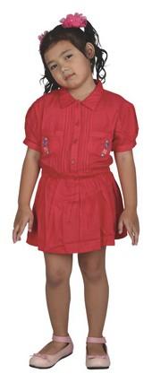 dress anak perempuan karakter hello kitty CDC 100