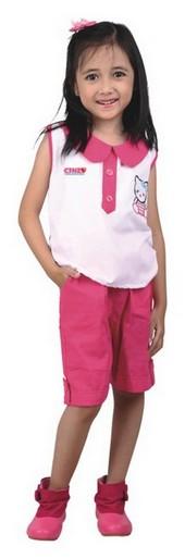 Pakaian Anak Perempuan Catenzo Junior CMS 122
