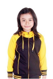 jaket anak perempuan karakter disney barbie IKC 802