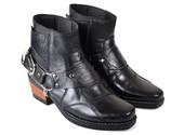 Sepatu Cowboy Kulit Pria CBR SIX NEC 432