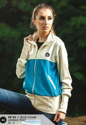 Jaket Adidas Wanita Biru RP 02