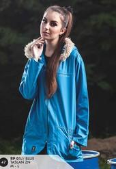 Jaket Taslan Wanita Biru RP 01