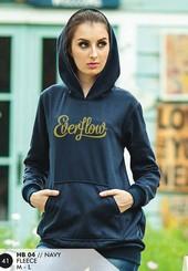Sweater Fleece Wanita Navy HB 04