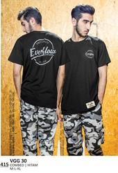 Kaos T shirt Pria Everflow VGG 30
