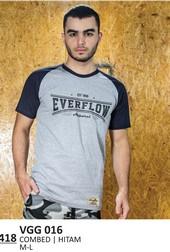 Kaos T shirt Pria Everflow VGG 016