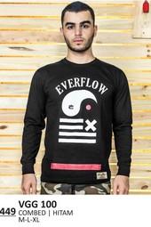 Kaos T shirt Pria Everflow VGG 100