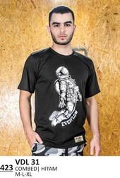 Kaos T shirt Pria VDL 31