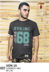 Kaos T shirt Pria VON 15